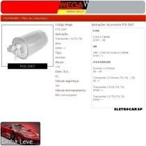 Filtro De Combustível - Transporter 1.9 (t4, 70) 09/90 Em Di