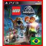 Lego Jurassic World Park Ps3 Codigo Psn Dublado Portugues Br