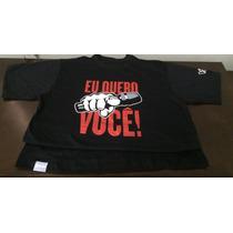 Camiseta The Voice Eu Quero Você Original