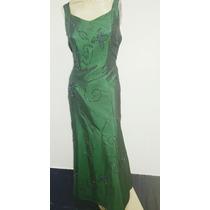 Vestido Festa/madrinha/formatura Longo Cor Verde