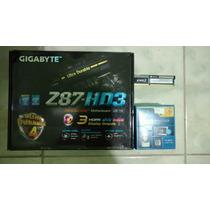 Kit I5 4670 + Mb Gigabyte Z87hd3 + 8gb Corsair- Aceito Troca