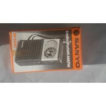 Rádio Antigo Sanyo Rp5040 Na Caixa Único A Venda Neste Estad