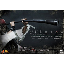 Piratas Do Caribe Jack Sparrow Dx Exclusive - Hot Toys - 1/6
