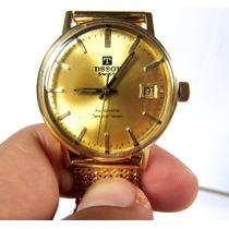 Relógio De Ouro 18k Tissot Automatico Masculino