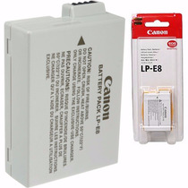 Bateria Canon Lp-e8 Original Lp E8 T4i T5i T3i Kiss X4 X5