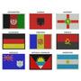 Bordado Termocolante Bandeiras De Todos Os Países Do Mundo
