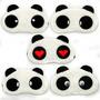 Máscara Para Dormir Panda Repouso+ Protetor De Ouvido+frete