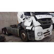 Caminhão Axor 2544 Sucata Para Retirada De Peças