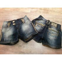 Shorts Pit Bull Jeans Empina Bumbum Com Bojo Removível No B