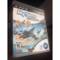 Jogo My Sims Sky Heroes Game Ps3 Midia Fisica Dvd Original