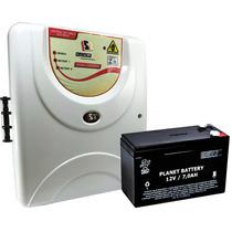 Central De Cerca Elétrica Residencial + Bateria 7a