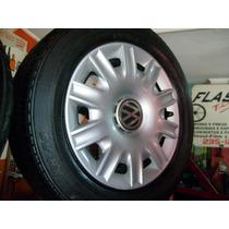 Estepe Aro15 Fox Roda +pneu Meia Vida