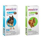 Combo Bravecto Cão 1x 10-20kg E 1x 20-40kg