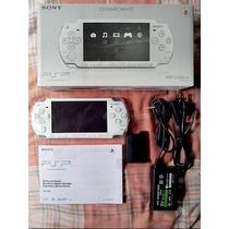 Sony Psp Slim 2006 Branco Novo Na Caixa Playstation Portable