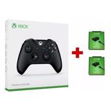 Controle Xbox One S Entrada P2 Original + 2 Baterias