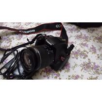 Câmera Canon Eos Rebel T3+lentes 18-55mm+ 55-250+ 74200clics