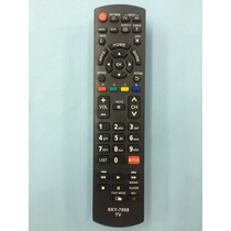 Controle Remoto Tv Panasonic Vieira Netflix Tc-32as600b