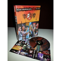 Dvd Rebelde Tour Generacion Rbd En Vivo - Original