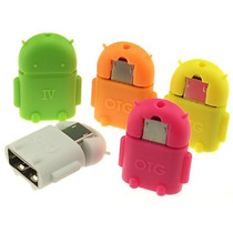 Mini Adaptador Micro Usb Otg Para Usb, Celular Tablet Mouse