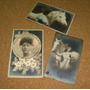 3 Cartões Postais Antigos -