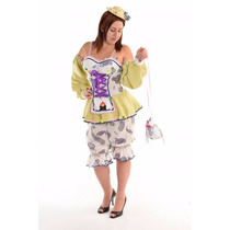 Vestido Caipira Adulto Sensual - Cores Diversas