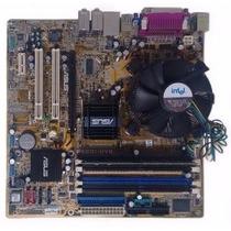 Placa Mãe P5gd1-hvm Pentium4 630 3.0 Usado + Memória 1gb