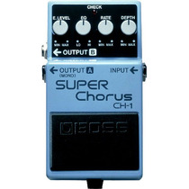 Pedal Boss Ch 1 Super Chorus Original Nfe Garantia