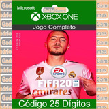 Fifa 20 Xbox One Código 25 Dígitos Oficial Em 12x Sem Juros