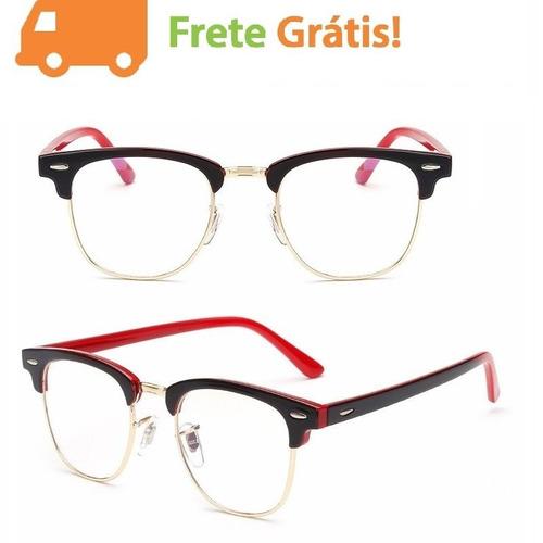 064e9ea9e Armação De Oculos Feminino Para Grau Retro Gatinho Barato à venda em ...