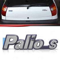 Emblema Tampa Porta Malas Fiat Palio S 96 97 98 99 2000