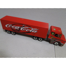 Scania Cavalo Trucado Carreta Bau Coca Cola Bitrem Caminhão