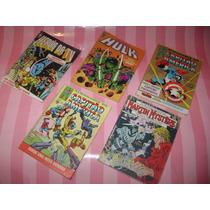 Lote De 5 Gibis Antigos - Super Homem E Outras Bom Estado.