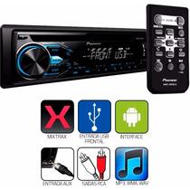 Toca Cd Player Pioneer Usb Aux Mp3 Mixtrax Mp3 Radio Am Fm