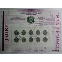 Folha Numismática Alemanha Comemorativa 10 Marcos De 1998