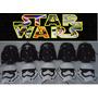 Kit C/16 Mascara Sabre Star Wars Espacial+baterias Luz Led