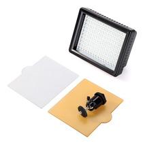 Iluminador 126 Leds Potente Para Filmagens E Fotos Dsrl Hd