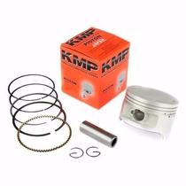 Kit Pistao Com Anéis Honda Cg 150 Titan 4mm Competição - Kmp