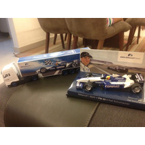 Minichamps Williams Bmw Fw23 Ralf Shumacher 1:43 Com Carreta