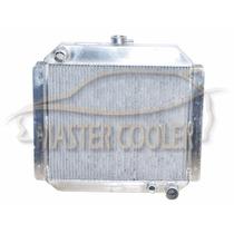 Radiador De Jeep Willys Motor Opala 6cc Em Alumínio Brasado