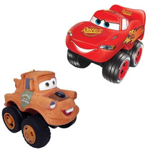 Brinquedo Vinil Carro Mcqueen E Mate Fofomovel Disney Lider