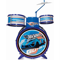 Bateria Infantil Hot Wheels Fun - Pronta Entrega
