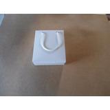100 Sacolas, Sacolinhas Presente Papel Branco (12x5x14)