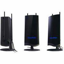 Antena Interna Amplificada P/ Tv Vhf/uhf/fm/hdtv Digital