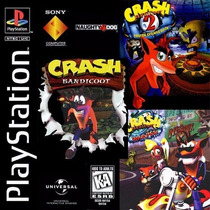 3x1 Crash Bandicoot Collection Cd-rom Ps1/ Ps2/ Psp/ Pc