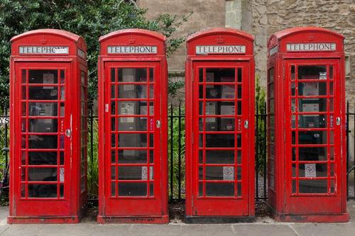 dd286ff8d Papel De Parede Adesivo Vintage Londres Cabine Telefonica Hd à venda ...