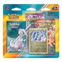 Mini Pasta Pokemon + 2 Boosters + Card Promo