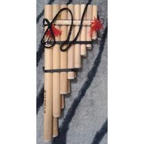 Flauta Pan Peruana Dupla Grande 15 Notas