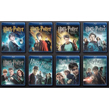 Coletânea Com Os 8 Filmes Harry Potter - Leia A Descrição