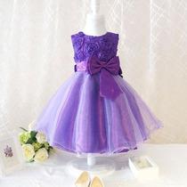Vestido Infantil Princesa Festa Luxo Pronta Entrega