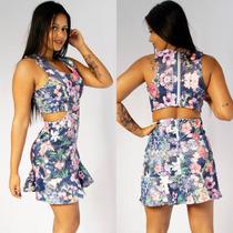 Vestido Florido Roupas Femininas Blogueira Estiloso Fashion